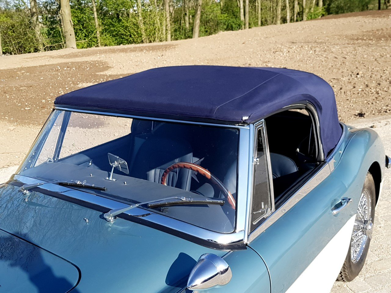 1964 Austin Healey 3000 Mark 3 convertible BJ8 (RESTORED) For Sale (picture 5 of 6)