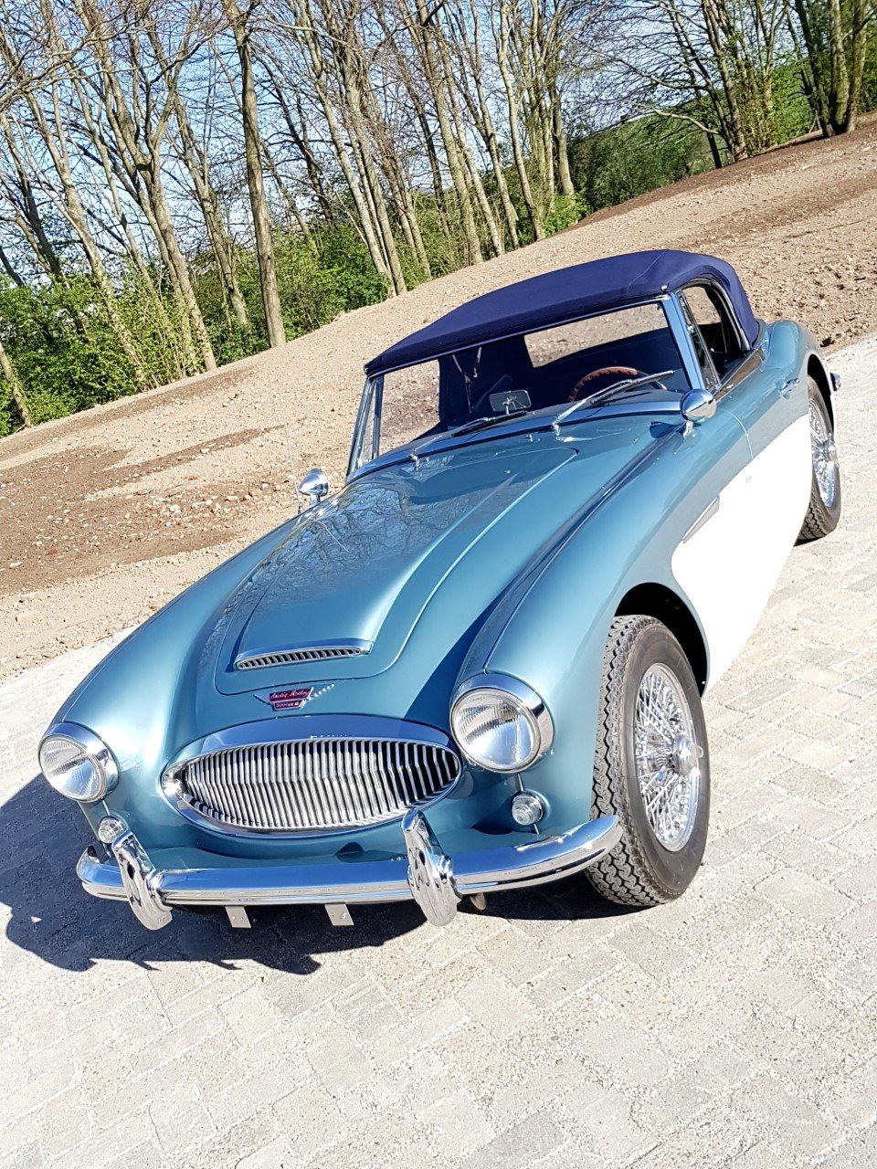 1964 Austin Healey 3000 Mark 3 convertible BJ8 (RESTORED) For Sale (picture 6 of 6)