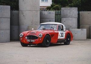 1962 Austin Healey 3000 MKII Hillclimb & Rally Car