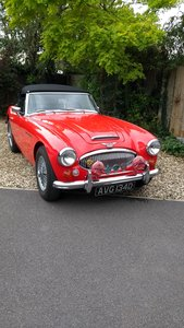 1966 Austin Healey 3000 Mk3 BJ8 fast road eng