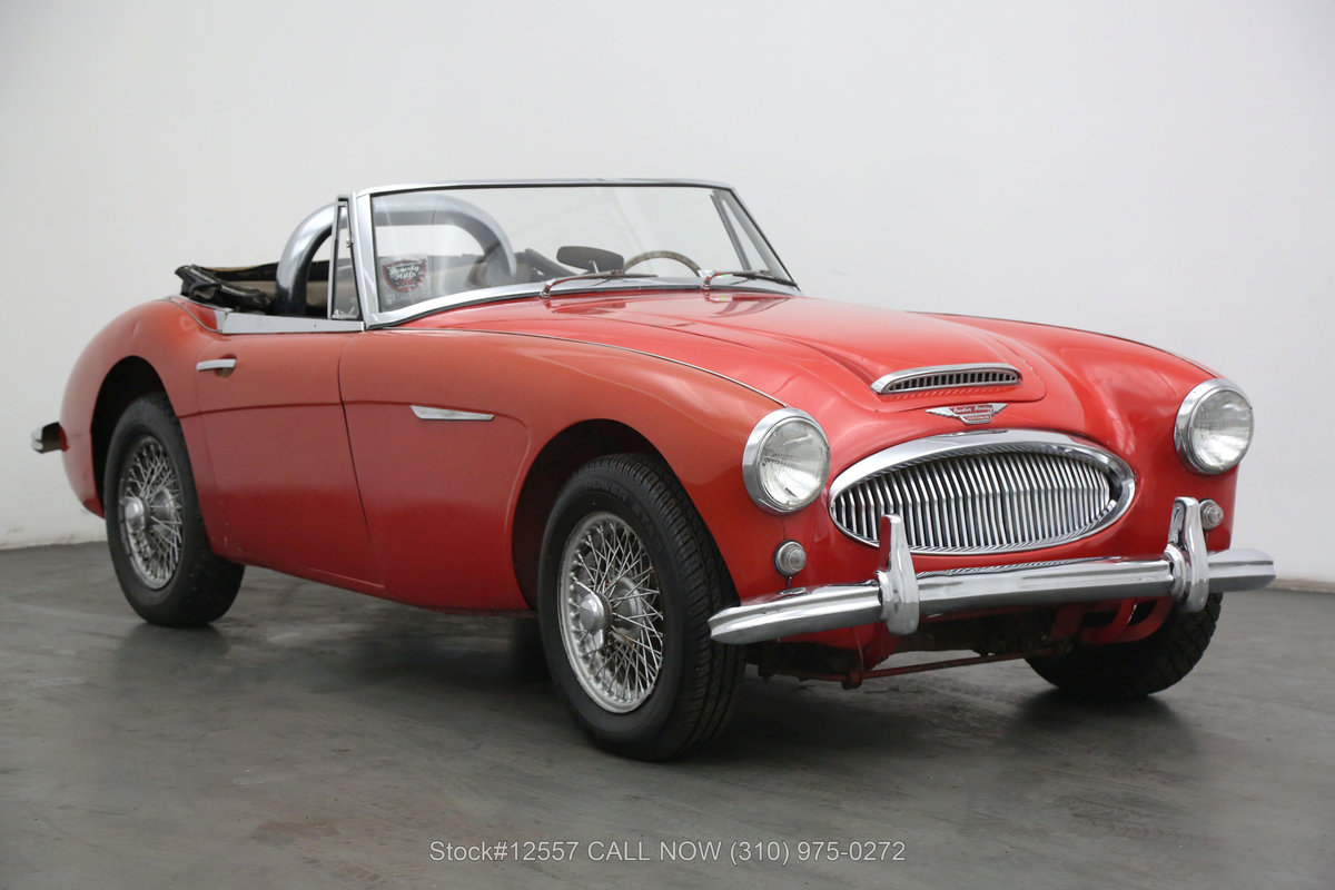 1964 Austin-Healey 3000 BJ8 Convertible Sports Car For Sale (picture 1 of 6)