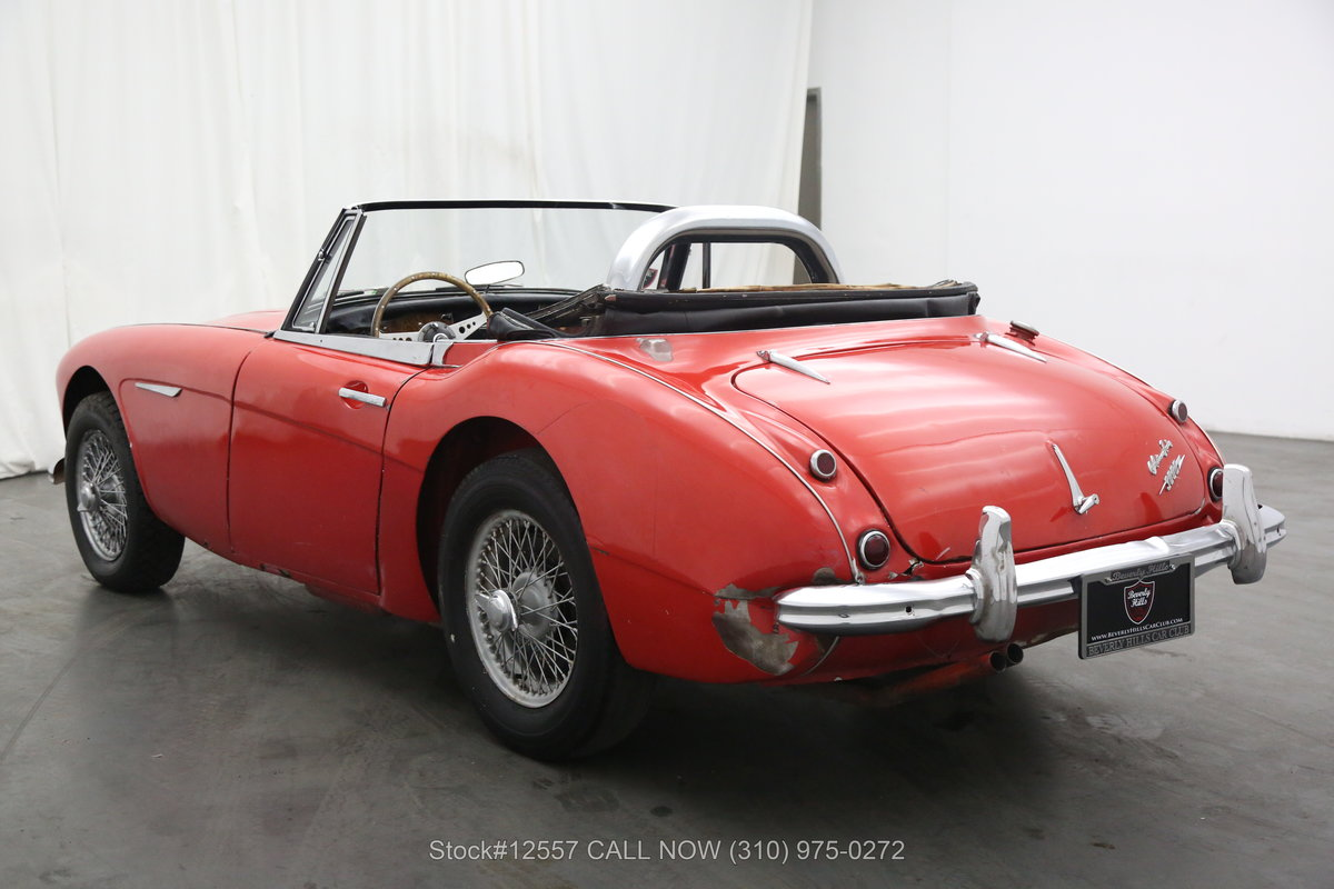 1964 Austin-Healey 3000 BJ8 Convertible Sports Car For Sale (picture 3 of 6)