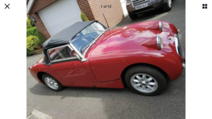 Picture of 1959 Pretty and sound Frogeye NOW REDUCED For Sale