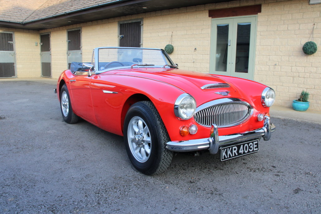 1966 AUSTIN HEALEY 3000 MK3 BJ8 PHASE 2  For Sale (picture 1 of 20)