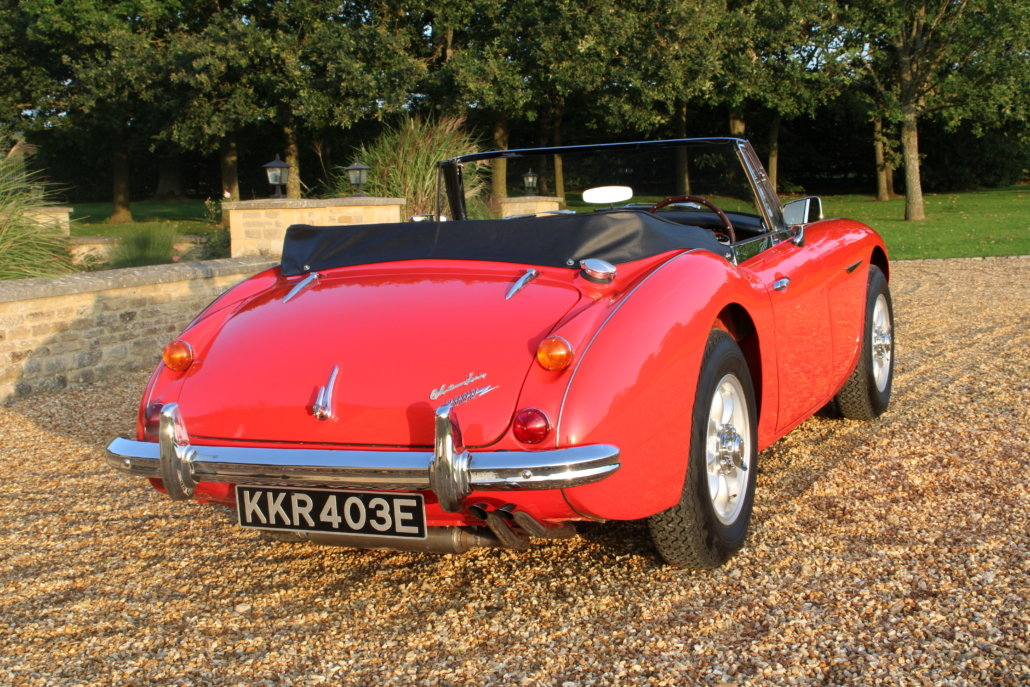 1966 AUSTIN HEALEY 3000 MK3 BJ8 PHASE 2  For Sale (picture 3 of 20)
