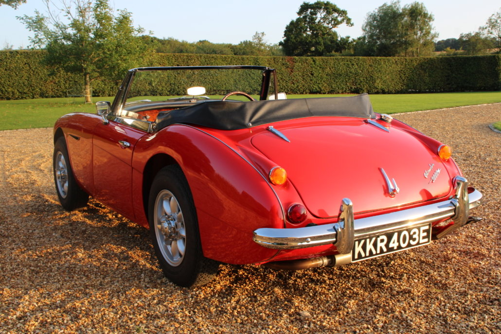 1966 AUSTIN HEALEY 3000 MK3 BJ8 PHASE 2  For Sale (picture 5 of 20)