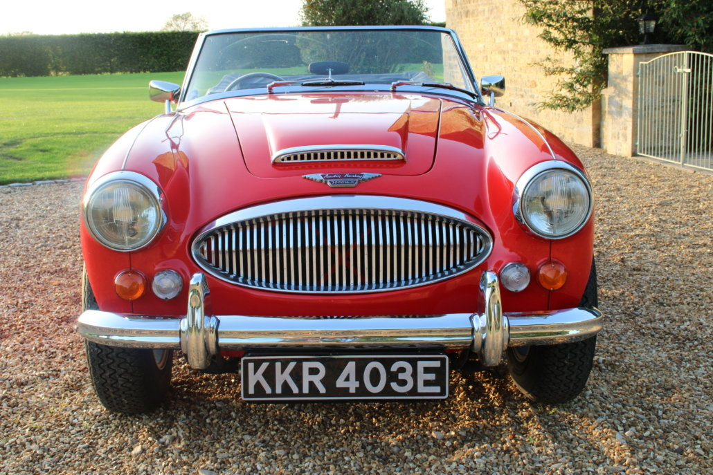 1966 AUSTIN HEALEY 3000 MK3 BJ8 PHASE 2  For Sale (picture 7 of 20)