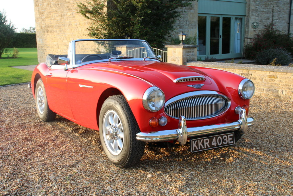 1966 AUSTIN HEALEY 3000 MK3 BJ8 PHASE 2  For Sale (picture 8 of 20)