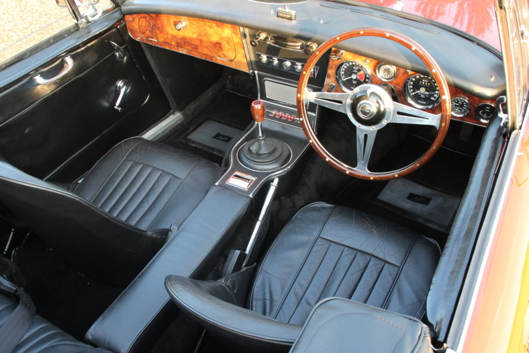 1966 AUSTIN HEALEY 3000 MK3 BJ8 PHASE 2  For Sale (picture 14 of 20)