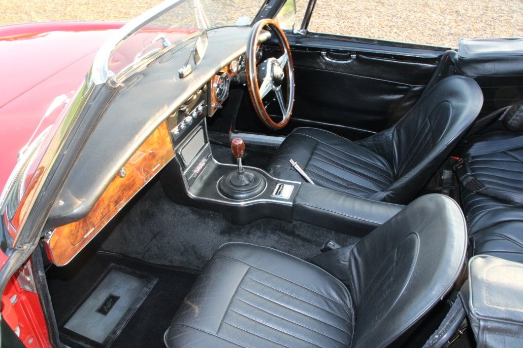 1966 AUSTIN HEALEY 3000 MK3 BJ8 PHASE 2  For Sale (picture 18 of 20)
