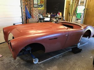 1955 Rare Austin Healey RHD BN1 restoration Project