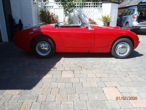 "Picture of 1959 Austin Healey 'Frogeye"" Sprite"