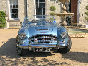 Picture of 1957 Austin Healey 100/6 Healey Blue Metallic For Sale
