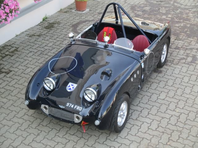 1959 Austin Healey Frogeye SPRITE FIA RACE GTP 1000 For Sale (picture 2 of 6)