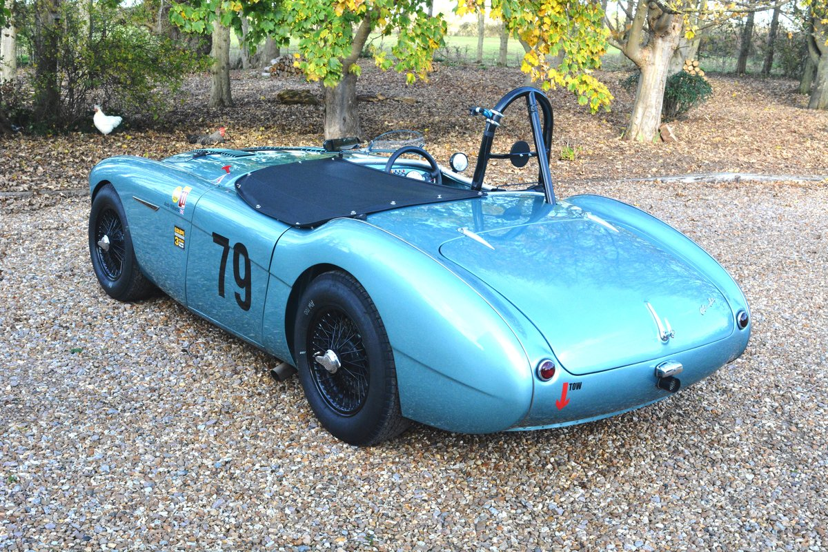 1956 Immaculate Austin Healey 100 Race Car For Sale (picture 3 of 6)