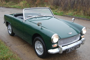 Picture of 1963 EARLY MK2 AUSTIN HEALEY SPRITE IN BRITISH RACING GREEN For Sale