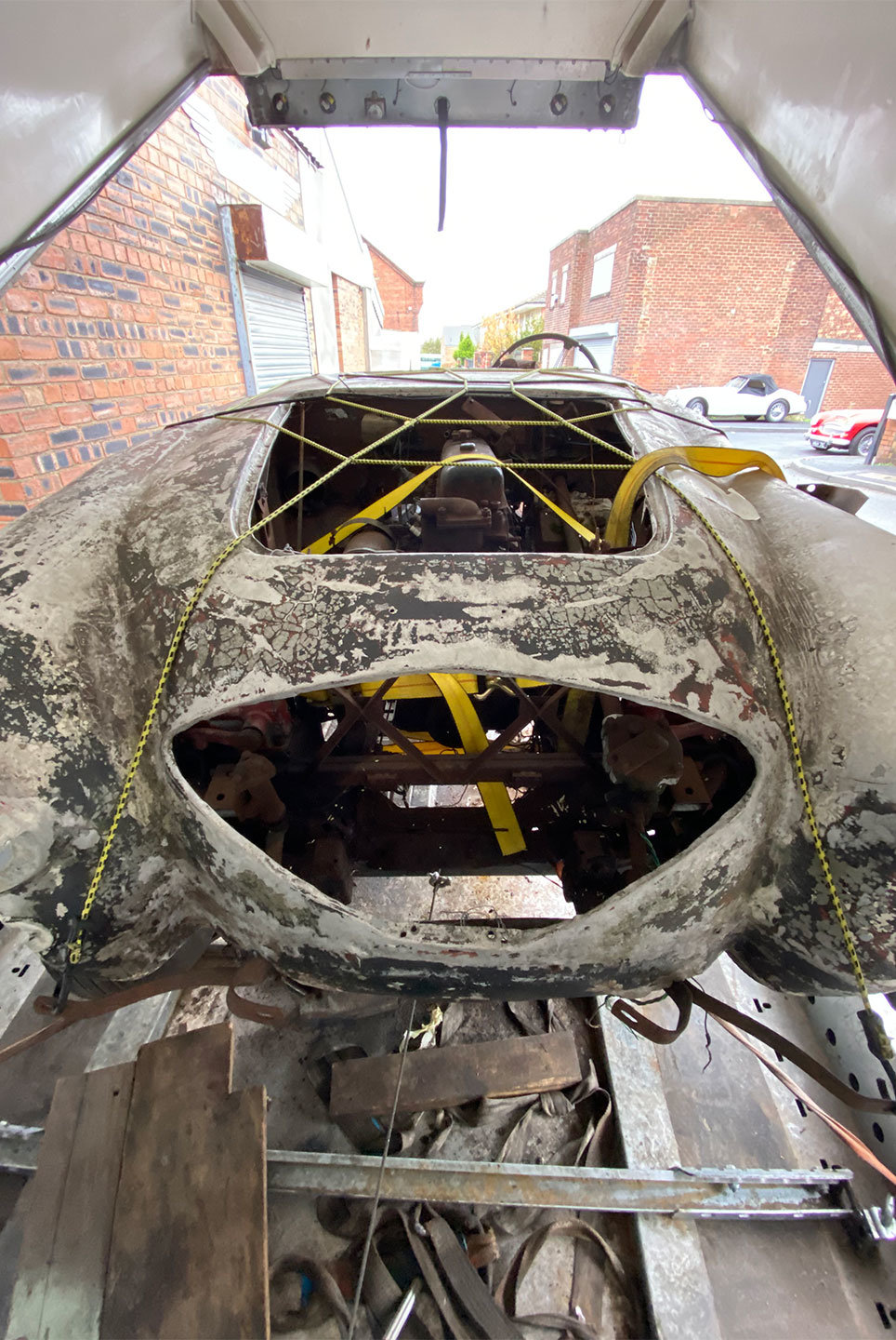 1955 Austin Healey 100/4 Restoration Project For Sale (picture 1 of 9)