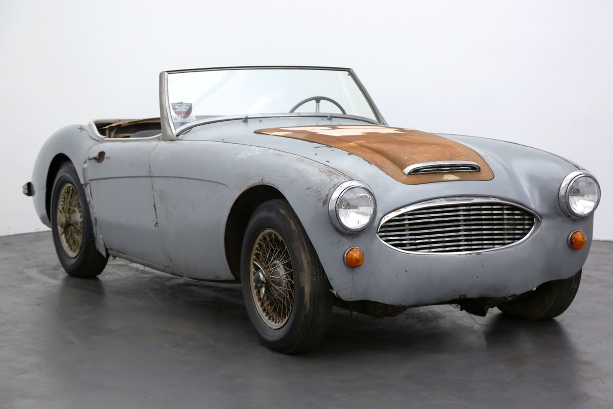 1959 Austin-Healey 100-6 BN6 Convertible Sports Car For Sale (picture 1 of 7)