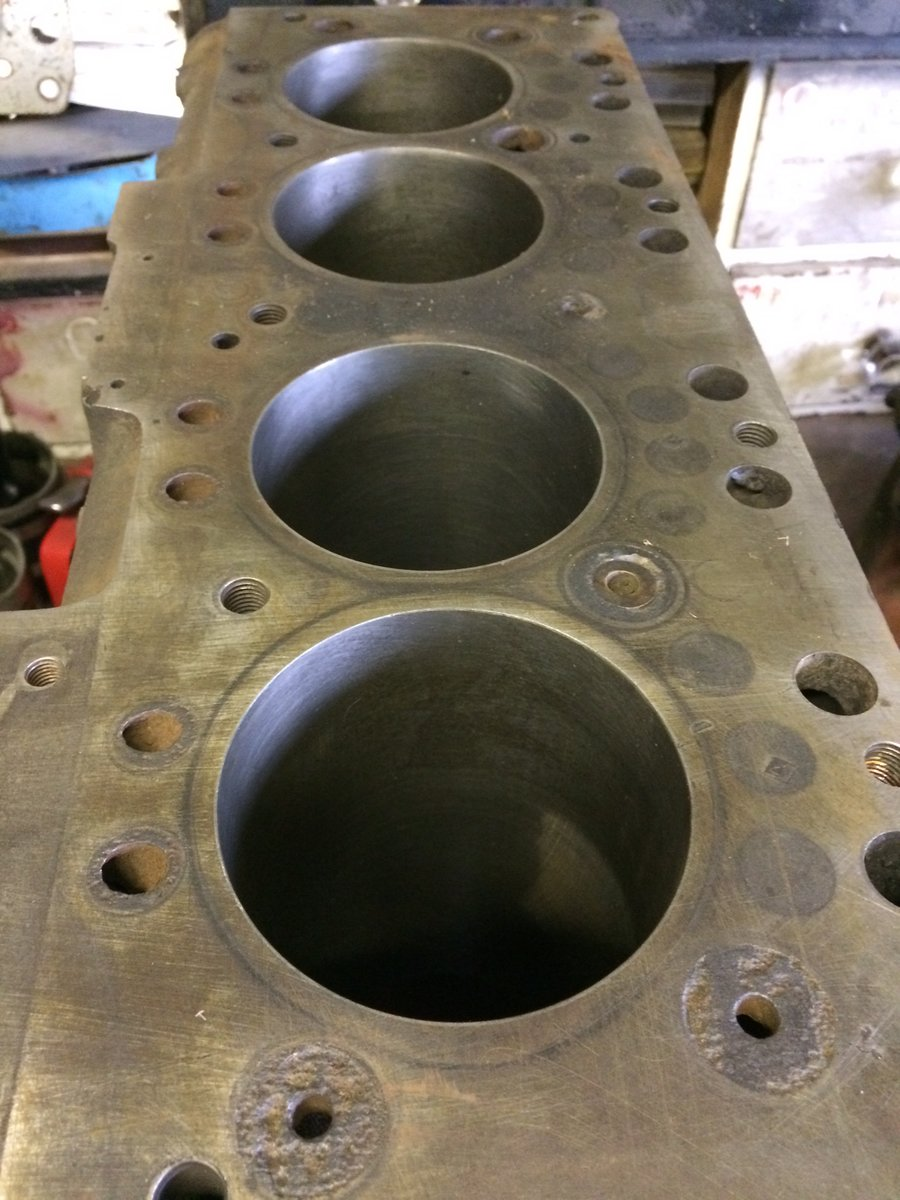 1953 Austin Healey 100 Engine Block For Sale (picture 5 of 5)