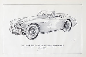 Picture of 1967 Austin Healey 3000 Mk 3 - Restoration Project SOLD