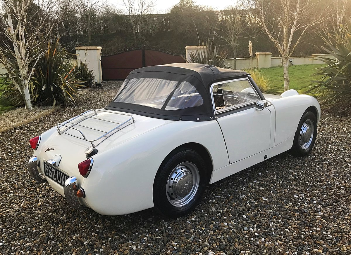 1960 AUSTIN HEALEY FROGEYE SPRITE IN SUPERB ORDER - MAY PX For Sale (picture 3 of 10)