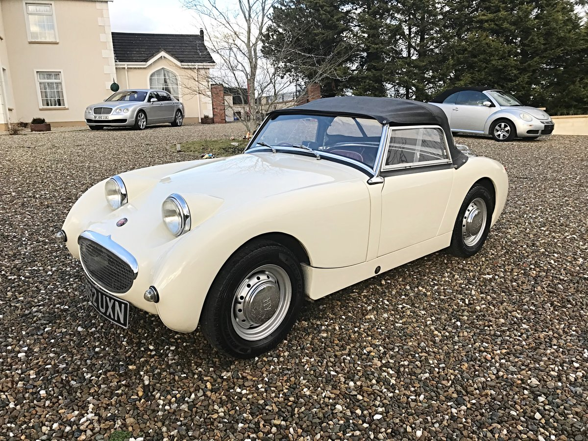 1960 AUSTIN HEALEY FROGEYE SPRITE IN SUPERB ORDER - MAY PX For Sale (picture 4 of 10)