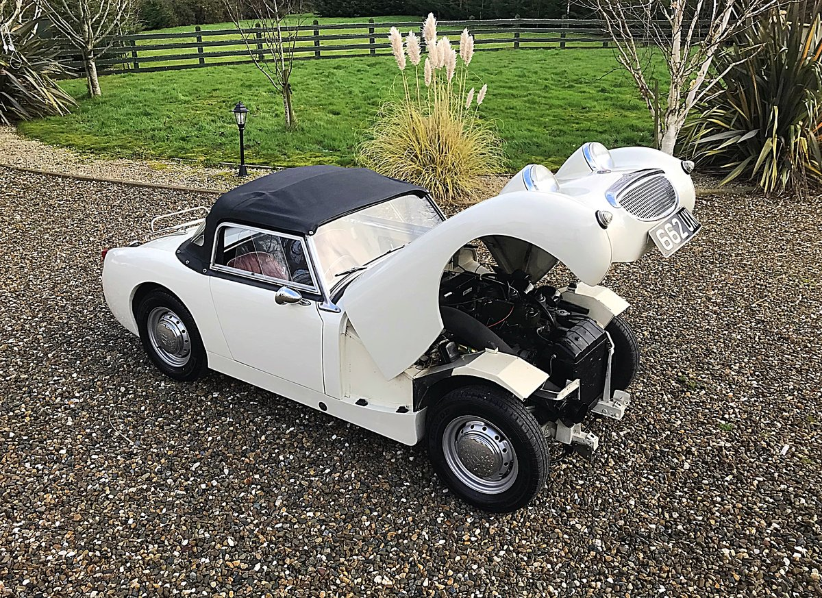 1960 AUSTIN HEALEY FROGEYE SPRITE IN SUPERB ORDER - MAY PX For Sale (picture 10 of 10)