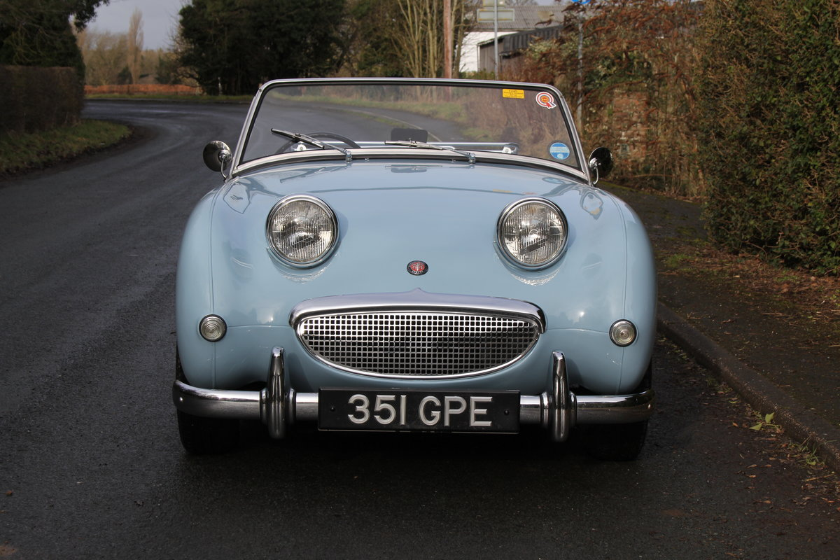 1958 Austin Healey Sprite MkI, Superbly Restored For Sale (picture 2 of 14)