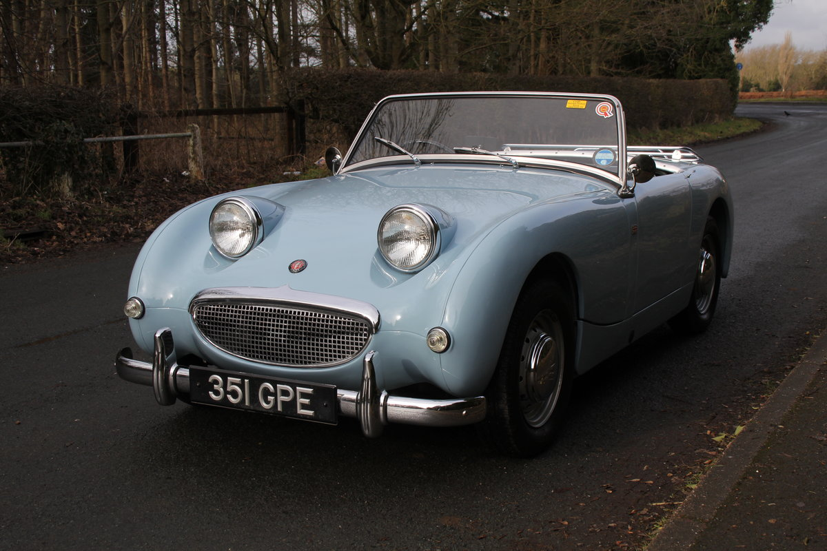 1958 Austin Healey Sprite MkI, Superbly Restored For Sale (picture 3 of 14)