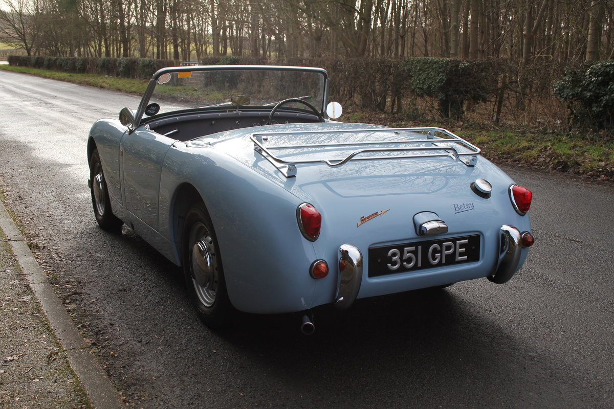 1958 Austin Healey Sprite MkI, Superbly Restored For Sale (picture 4 of 14)