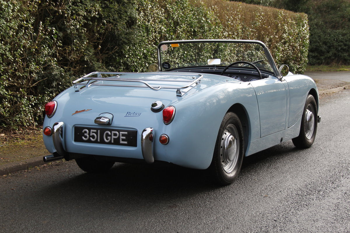 1958 Austin Healey Sprite MkI, Superbly Restored For Sale (picture 6 of 14)