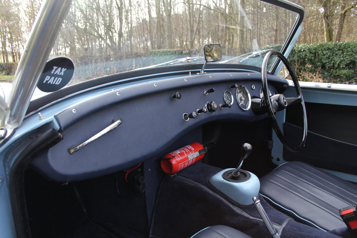 1958 Austin Healey Sprite MkI, Superbly Restored For Sale (picture 10 of 14)