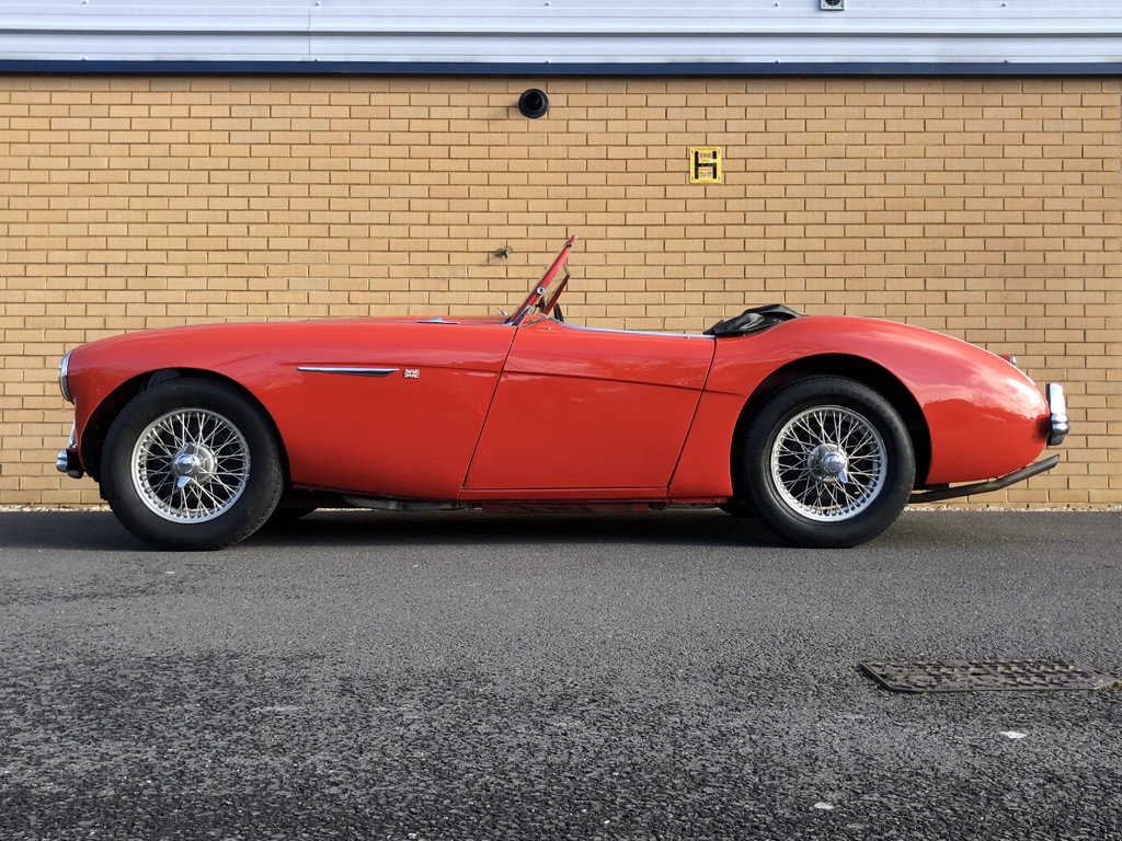 1954 AUSTIN HEALEY 100/4 // 2.7L For Sale (picture 2 of 11)