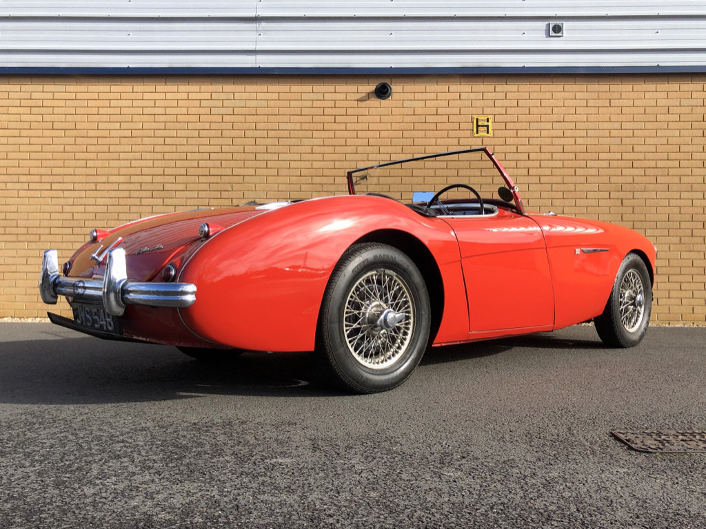 1954 AUSTIN HEALEY 100/4 // 2.7L For Sale (picture 6 of 11)
