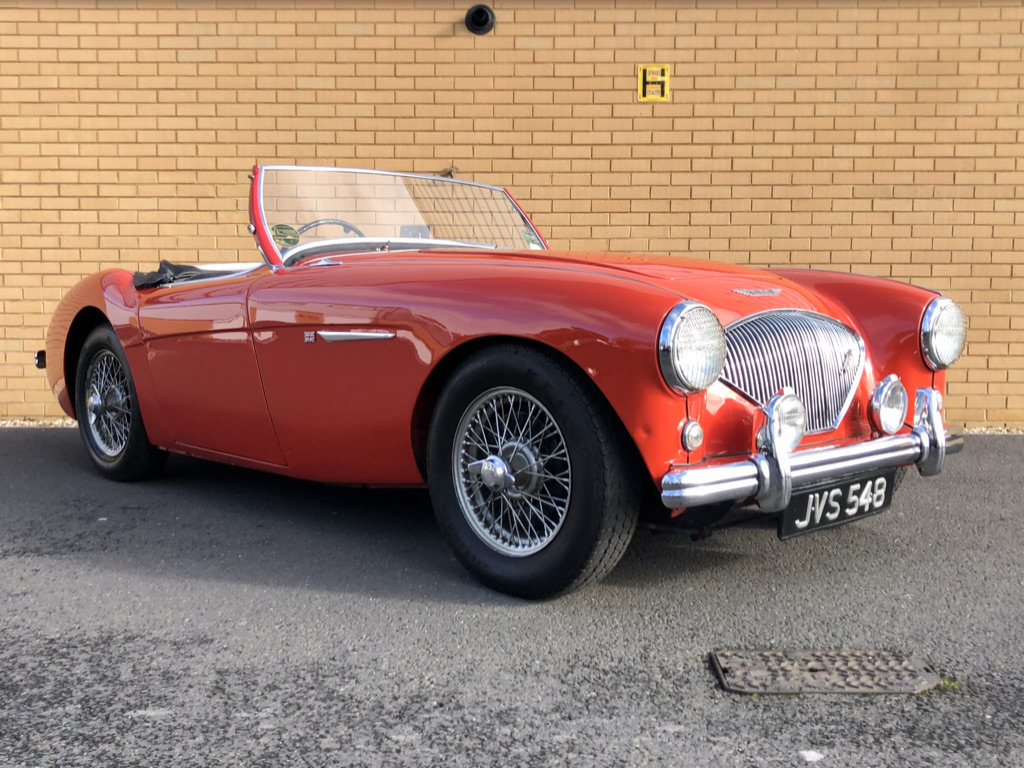 1954 AUSTIN HEALEY 100/4 // 2.7L For Sale (picture 7 of 11)