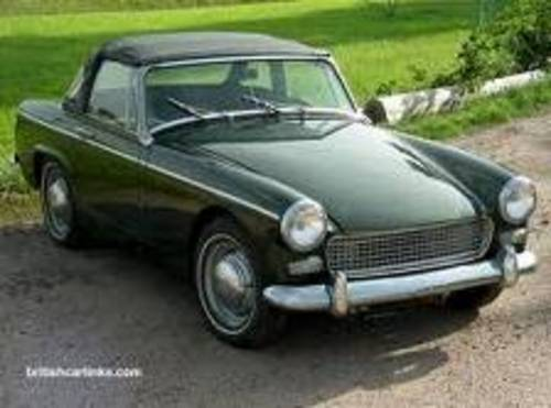 COMPLETE ORIGINAL 1966 AUSTIN HEALEY SPRITE MK3 For Sale (picture 1 of 3)