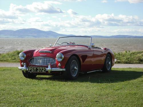 1961 Ex Barry Sheene Mk1 Healey 3000 BN7 for hire For Hire (picture 1 of 3)