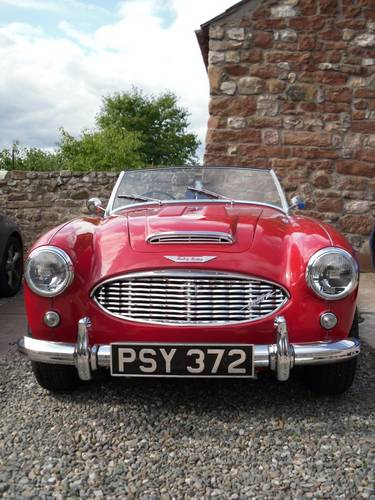 1961 Ex Barry Sheene Mk1 Healey 3000 BN7 for hire For Hire (picture 2 of 3)