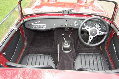 1960 Austin Healey Frogeye Sprite from Jersey Classic Hire.Com For Hire (picture 2 of 6)