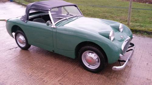 1959 Austin Healey Frogeye Sprite NOW SOLD, SIMILAR REQUIRED Wanted (picture 1 of 6)