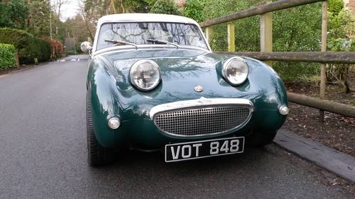 1959  Frogeye Sprite  NOW SOLD< SIMILAR RERQUIRED PLEASE? Wanted (picture 1 of 6)