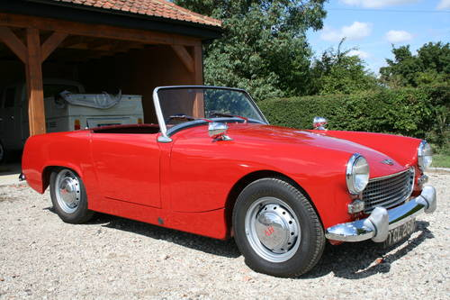 1961 Austin Healey Sprite MK11.NOW SOLD,OTHERS WANTED Wanted (picture 1 of 6)