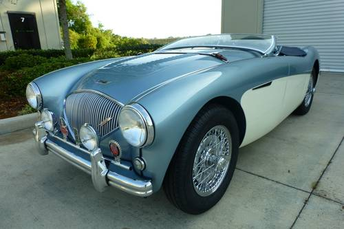 1956 Austin Healey 100M Le Mans $ 195,000.- For Sale (picture 2 of 6)