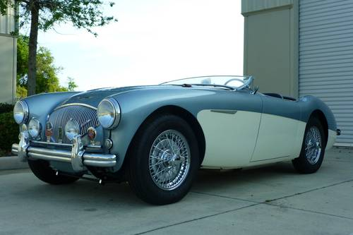 1956 Austin Healey 100M Le Mans $ 195,000.- For Sale (picture 3 of 6)