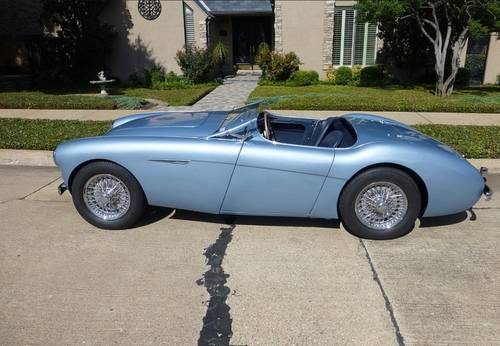 1953 Blue Austin Healey LHD For Sale (picture 1 of 4)
