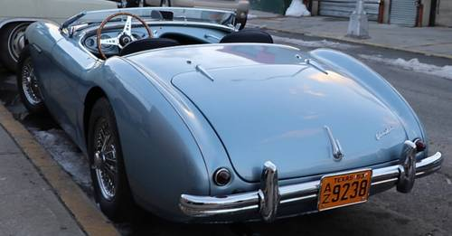 1953 Blue Austin Healey LHD For Sale (picture 2 of 4)