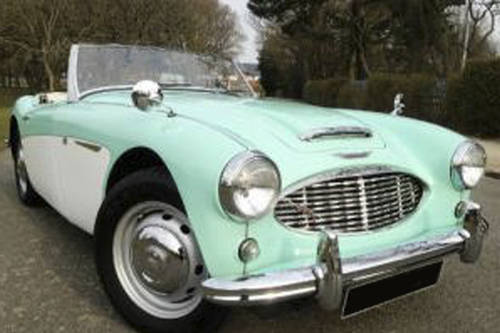 1956 Austin Healey 100/6 rare early car in Florida Green  SOLD (picture 1 of 1)