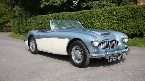 Austin Healey 3000 Mk1 1961 - A Very Beautiful Example For Sale (picture 1 of 6)