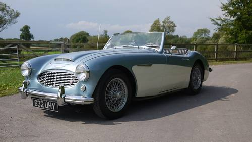 Austin Healey 3000 Mk1 1961 - A Very Beautiful Example For Sale (picture 3 of 6)