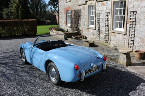 1961 AUSTIN HEALEY MK1 SPRITE FROGEYE For Sale (picture 2 of 6)